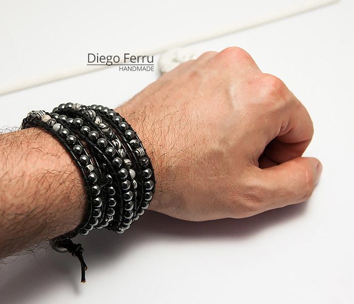 BS754 Крутой браслет «Diego Ferru» в стиле Chan Luu, ручная работы фото 06