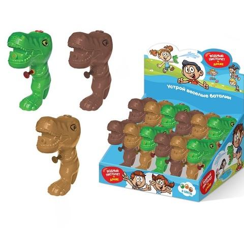 СЗН ЛЕТО Драже с игрушкой Водная брызгалка-динозавр 1кор*6бл*12шт, 5г.