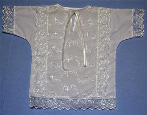 Крестильная рубашка №2