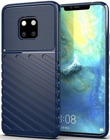 Чехол Carbon для Huawei Mate 20 Pro/20 RS серия Оникс | синий