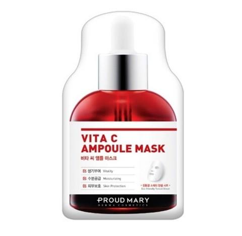 Proud Mary Vita C Ampoule Mask Тканевая маска для лица выравнивающая тон кожи с вит. С