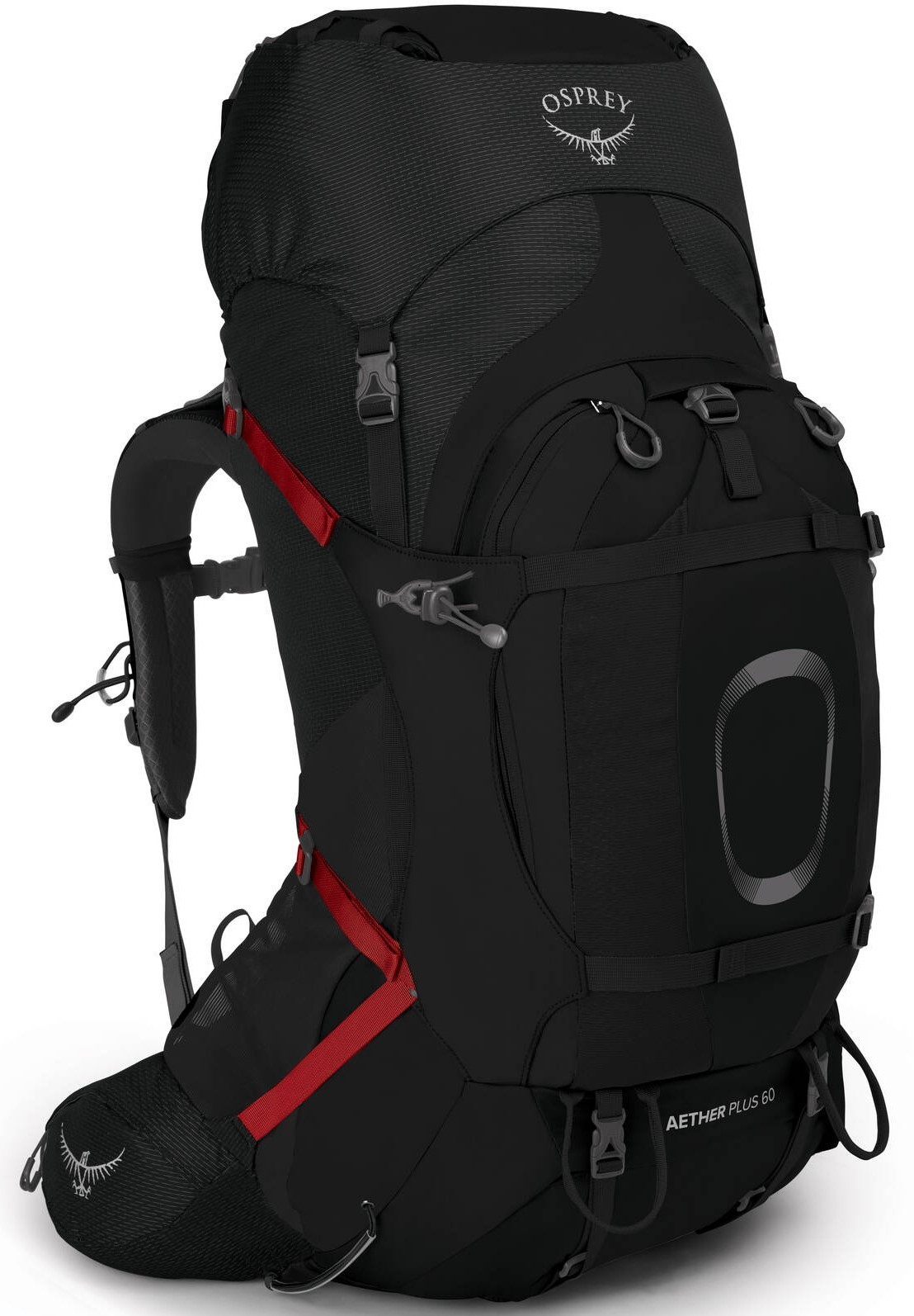 Aether AG Рюкзак туристический Osprey Aether Plus 60 Black Aether_Plus60_S21_Side_Black_web.jpg