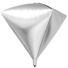 К Алмаз 3D, Серебро, 27''/69 см, 1 шт.
