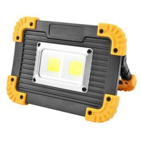 Прожектор аккумуляторный LL-812. 2*18650 или 3*ААА