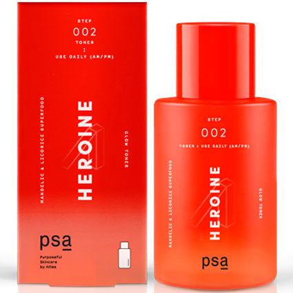 Тонер PSA Heroine Mandelic & Licorice Superfood Glow Toner 100 мл