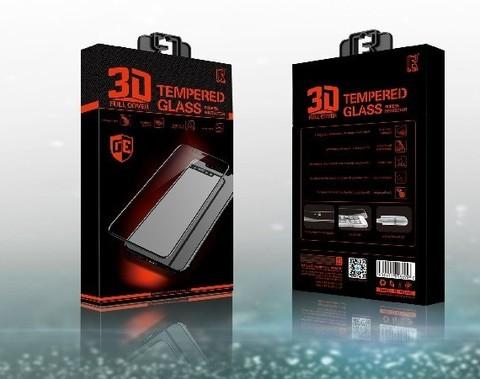 ROFI / Защитное стекло iPhone 7/8 Plus 3D | черное