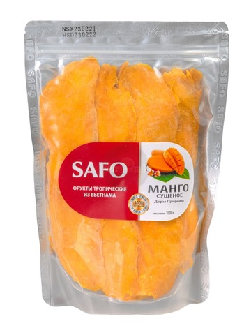 Манго сушеное SAFO 1 кг.
