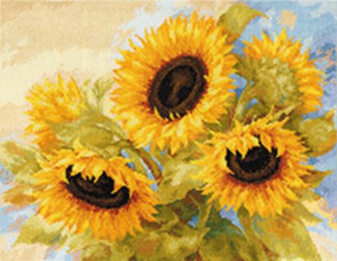 Солнечные мечты¶Размер: 40х30¶Количество цветов: 32
