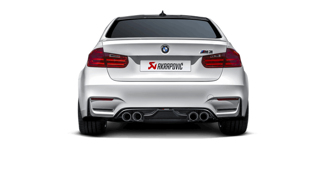 Выхлопная система AKRAPOVIC для BMW M3 (F80)