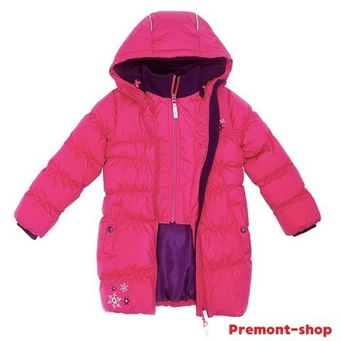 Пальто Premont зимнее Клубничный пудинг WP91351