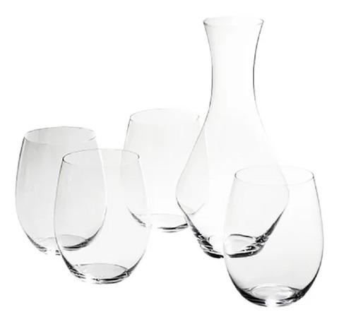Набор для вина Fortwo 600 мл + Merlot  Decanter 970 мл артикул 5414/14. Серия  O Wine Tumbler