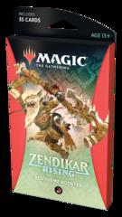 Тематический красный бустер выпуска «Zendikar Rising» (английский)