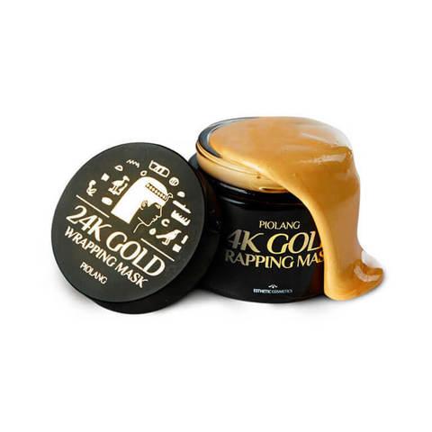 ESTHETIC HOUSE Маска для лица ЗОЛОТО Piolang 24k Gold Wrapping Mask, 80 мл