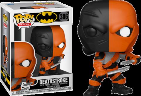 Фигурка Funko Pop! Heroes: Batman - Deathstroke (Excl. to Hot Topic)