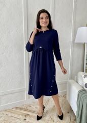 Фріда.  Красива сукня для дівчат і жінок. Синій