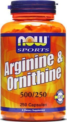 Аргинин NOW Arginine Ornithine