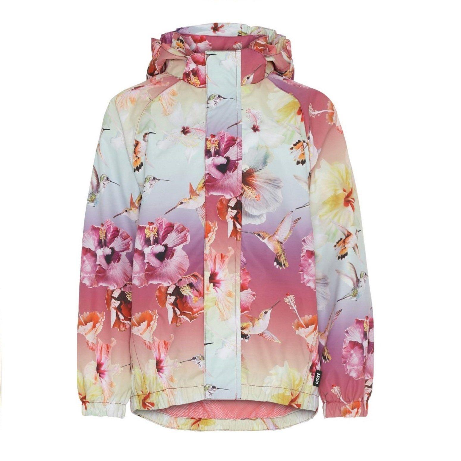 Куртка Molo Waiton Hibiscus Rainbow демисезонная