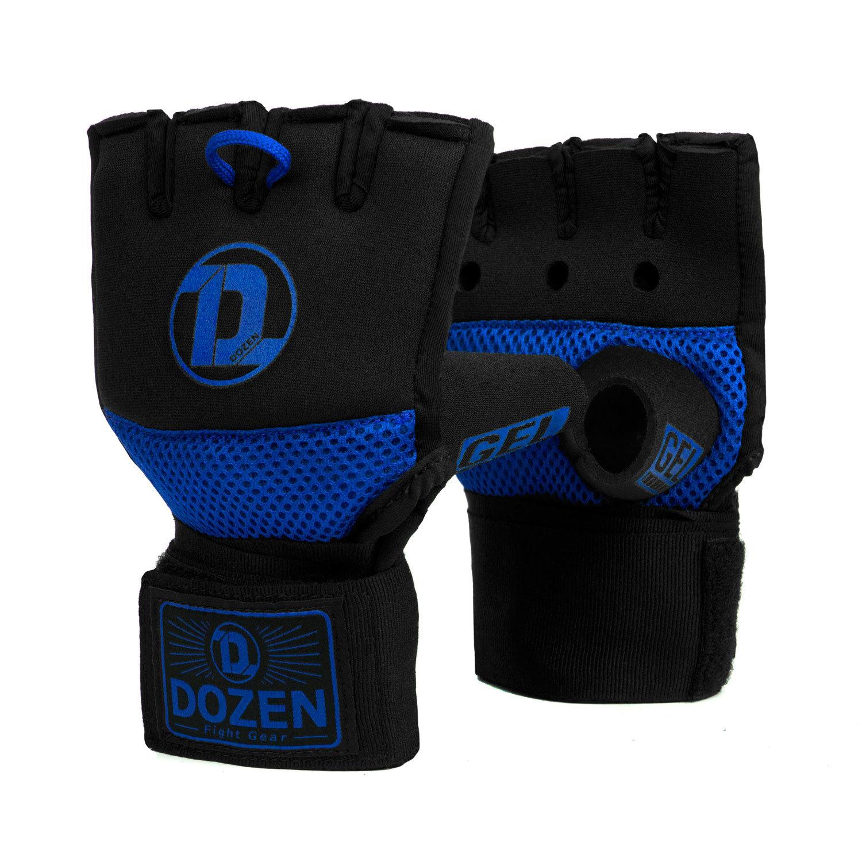 Быстрые бинты черно-синие Dozen Pro Gel-Air Inner главный вид