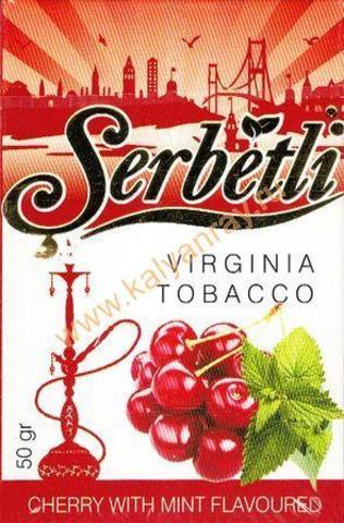 Serbetli Cherry with mint