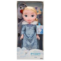 Кукла Эльза Холодное сердце 35 см, приключение Олафа