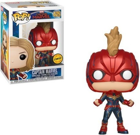 Captain Marvel (Chase) Funko Pop! Vinyl Figure || Капитан Марвел
