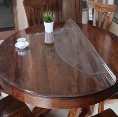 Скатерть круглая прозрачная 110 х 110 см толщина 2 мм