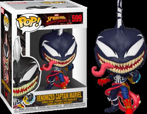 Venomized Captain Marvel Funko Pop! || Капитан-Марвел