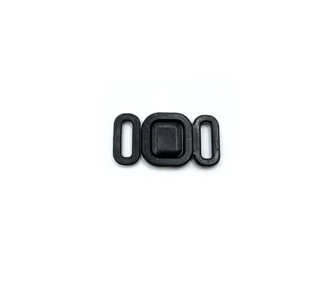 Застежка пластик 9 мм черная