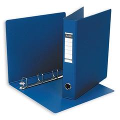 Папка на 4-х кольцах Bantex 50 мм синяя до 300 листов