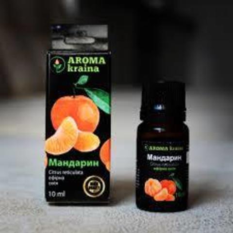Масло мандарина 10мл. Aroma Kraina