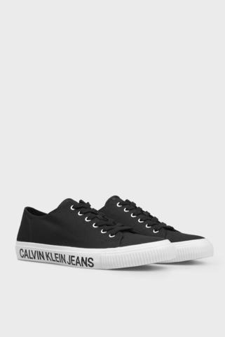 Мужские черные кеды DEANGELOX Calvin Klein
