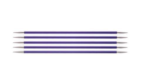 """Спицы чулочные """"Zing"""" 3,75мм/15см, KnitPro, 47008"""