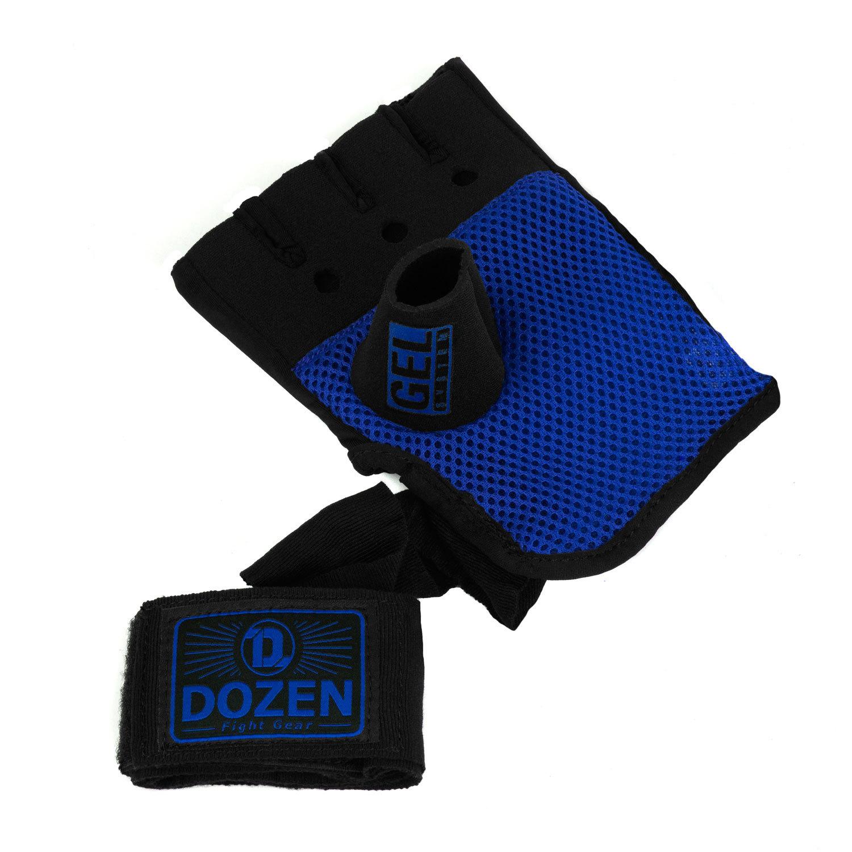 Быстрые бинты черно-синие Dozen Pro Gel-Air Inner дополнительный бинт