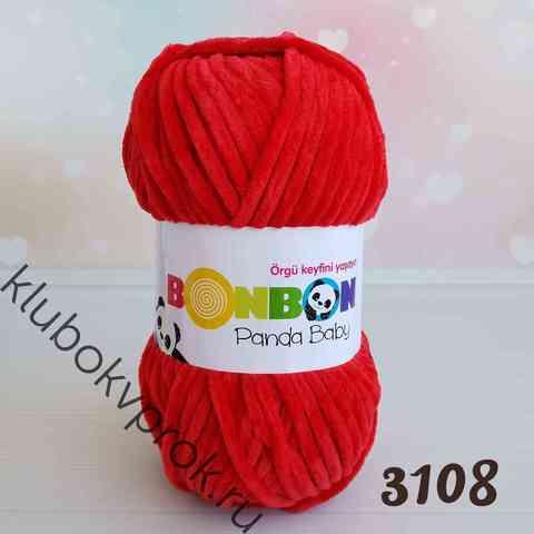 BONBON PANDA BABY 3108, Красный