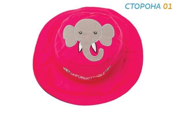 Панама Flapjackkids Слон/Мышка (Elephant/Mouse LUV0112M) М (2-4). Арт. 44100