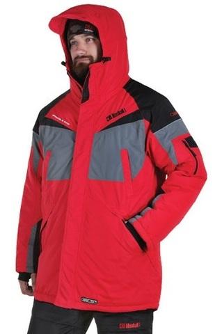 Костюм зимний Alaskan Dakota (Мембрана)красный