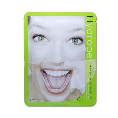 Восстанавливающая гидрогелевая маска с улиточным муцином BEAUUGREEN Snail Perfect Hydrogel Mask