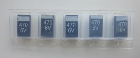 конденсатор TECAP 470мкф 6,3В E-type