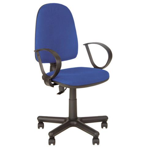 Кресло офисное Jupiter синее (ткань/пластик/металл)