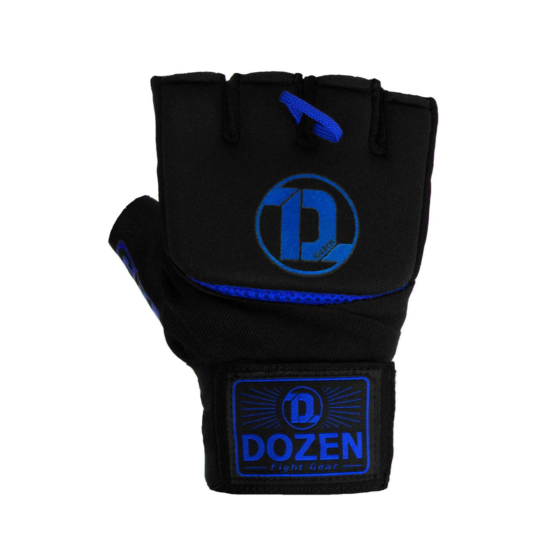 Быстрые бинты черно-синие Dozen Pro Gel-Air Inner спереди
