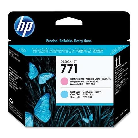 Оригинальная печатающая головка HP CE019A 771 Светло-пурпурная/Светло-голубая комплект