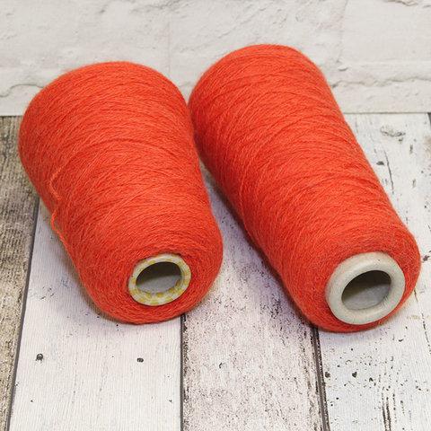 Полушерсть с альпакой LINEAPIU / INCAS 2/13 красный апельсин