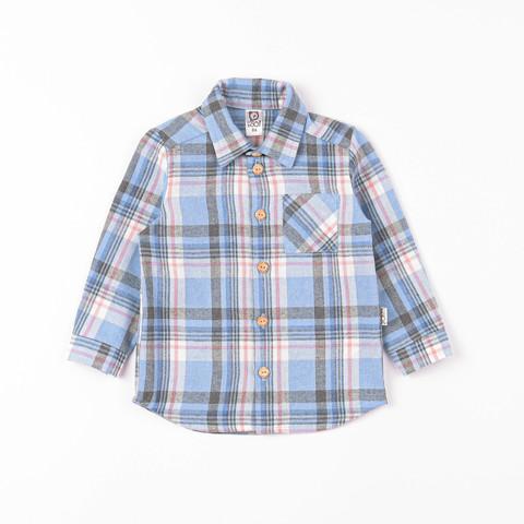 Check flannel shirt - Powder Denim