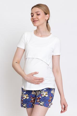 Пижама для беременных и кормящих 12911 тофу