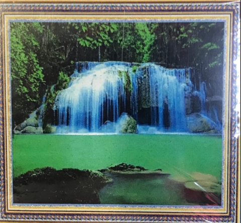 Алмазная мозаика 30x40 Голубой водопад (арт. HZM1131)