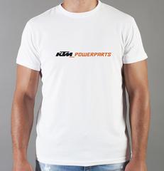 Футболка с принтом KTM (KTM AG) белая 006