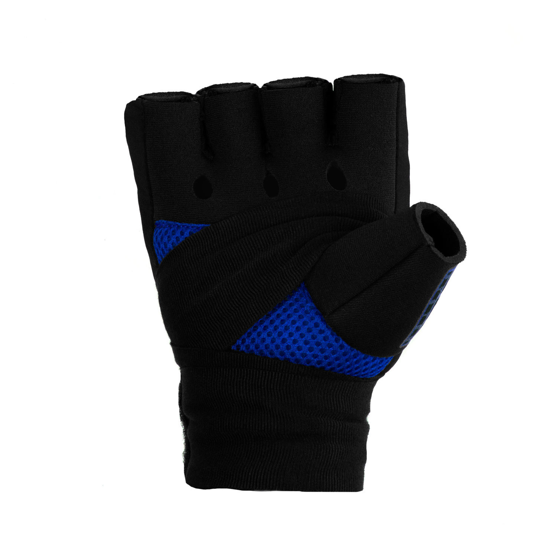 Быстрые бинты черно-синие Dozen Pro Gel-Air Inner ладонь