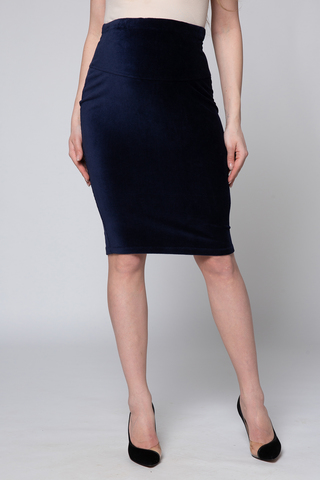 Юбка для беременных 09900 синий