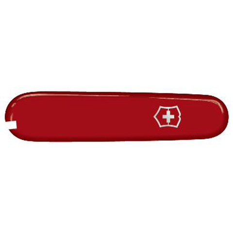 Передняя накладка для ножей Victorinox SwissLite 58 мм, пластиковая, красная