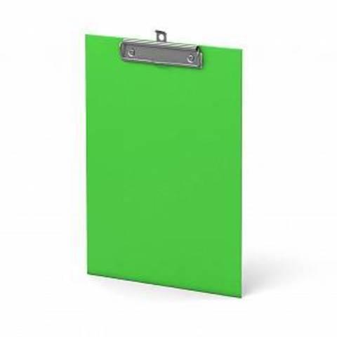 Планшет ERICH KRAUSE NEON А4 вертик. картон  зеленый